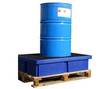 Bac de rétention Eco 2 fûts ECO